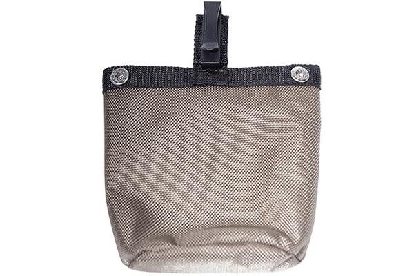 Futterbeutel Textil in braun von WILD HAZEL, selbstschließend, mit Druckknöpfen einfach in WILD HAZEL Tasche knöpfen