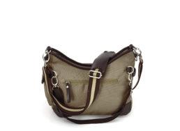 Beutel Hazel mit Reisverschlusstasche außen