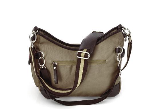 Beutel Hazel mit äußeren Reisverschlusstasche