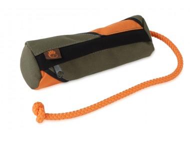 Futterdummy orange/ khaki passt in die Gassitasche von Wild Hazel