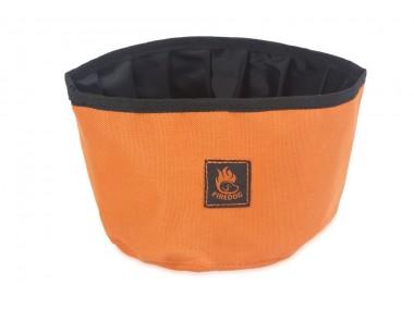 Firedog Reise Trinknapf in orange bei WILD HAZEL
