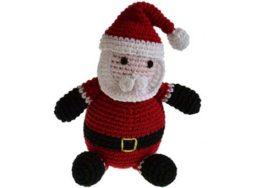Spielzeug Weihnachtsmann von Peppper's Choice | Hundespielzeug bei WILD HAZEL