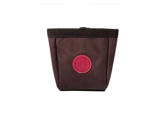 Futterbeutel Textil in dark choco von WILD HAZEL