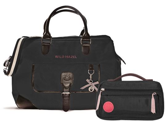 Schwarze Reise Hazel mit Big Bag von Wild Hazel